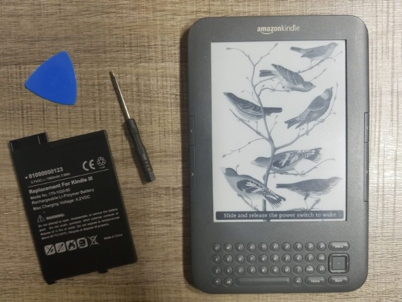 Kindle Keyboard Battery Replacement Tutorial